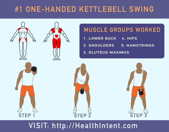 One Handed Kettlebell Swing1